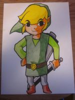 Wind Waker Link by TheDorkyDerpster