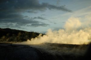 Yellowstone Hot Spring by thevictor2225
