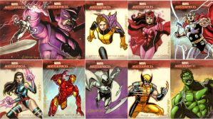 Marvel Masterpeices 2007 Artis by ryanorosco