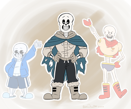 Comic Papyrus by BlueOrca2000