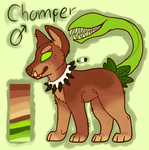 Rough Chomper Reference by Canine-Riot