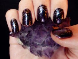 Dragon Egg Nail Tutorial by RubyReminiscence