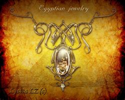 Egyptian jewelry by Lyotta