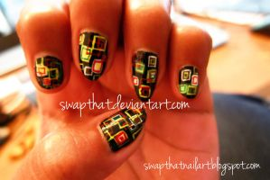 Color Boxes Nails by swapthat