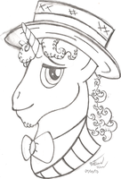 Flim - My Little Pony: Friendship is Magic sketch by AncientOwl