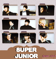 super junior folder icons {REQUEST} by stopidd