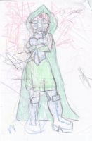 Crayon Gender Swap Dr. Doom by kaoshoneybun
