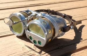 Steampunk Goggles on a budget by DarrenWasHere