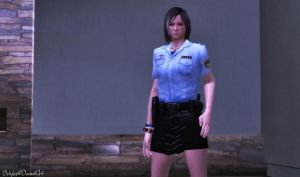 Ada Chinese Police Officer (W.I.P) by bstylez