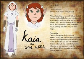Kaia Reference Sheet by Novum-Semita