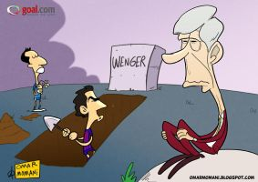 Wenger's grave by OmarMomani