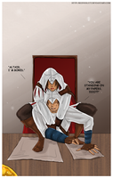 AC- Altair i am bored by RedViolett