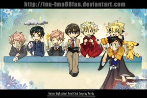 Ouran Host cosplay party by jinyjin