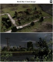 UDK WWII level design 5 by MarcinG1