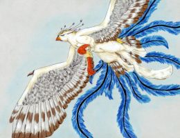 White Gryphon by DarkGryph