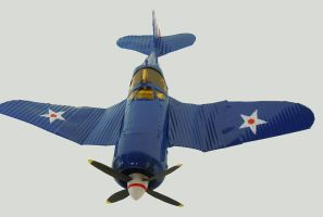 Toy Aeroplane front by gibsart