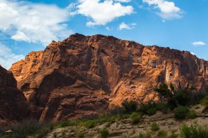 Red Mountain by charlesheadphotos