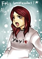 haappy bday aly by Shiyodelmal