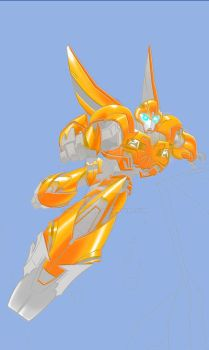 bumblebee by melonchan