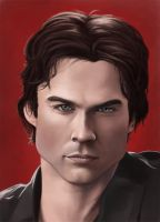 Damon Salvatore by JRSly