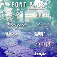 Font Pack by PuzzledWizards