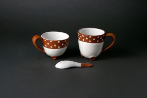 Teacup, Mug, and Spoon by valentineosarus