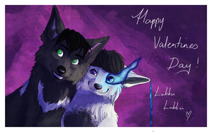 Commission - Valentines Card 1 by KeilidhB