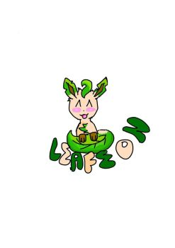 Leafeon for pokemon challenge DAY 5 by noobpinky