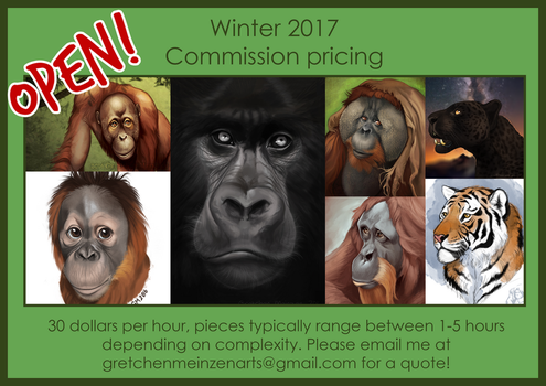 Commissions Open! ALL SLOTS OPEN by TigerTang