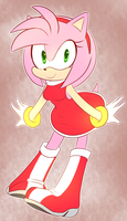 Amy pose by HearlessSoul