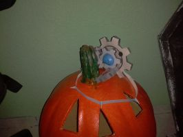 mecha pumpkin by javierini