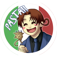 PASTAAAAAA button by TwinEnigma
