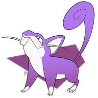 019 - Rattata by the-Mad-Hatress