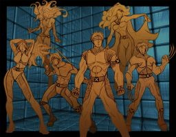 X-Men Revolution - Danger Room by new-moon-night