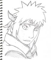 Yondaime - Sketch by Astreaz