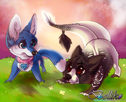 Let's play by Belliko-art