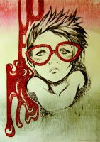 - Red glasses - by Sakuli
