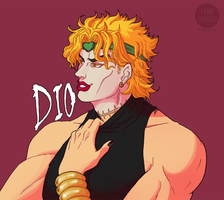 DIO Brando by fangshinobi