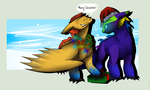 Christmas Gift - PurpleMistpepper by Dragon-Wolf-Lover