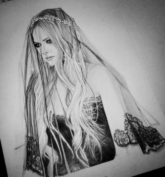 Gothic Avril Lavigne Illustration by Aeriz85