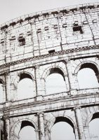 The Colosseum, Rome, Italy by Samichixox