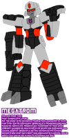 VERTEX: Megatron by InvaderToum