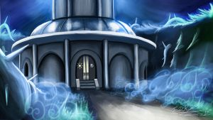 MLP: FIM Journey of the Spark Tower Concept Art by DeathKnightCommander