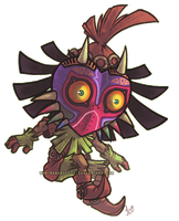 Skull Kid by mangriff39