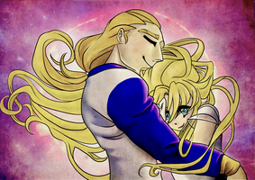 Prince Phoebus and Sailor Sun by G-gG