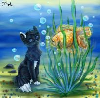 A Goldfish by Murley