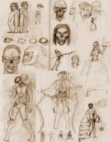 -Sketch- Zombies by Shooter--Andy