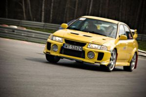 Lancer Evolution V by redsunph