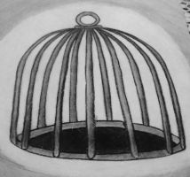 Empty Cage by Kristina-Henderson