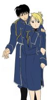 Just Roy and Riza, Nothing Much by T-manaitorofn00bs